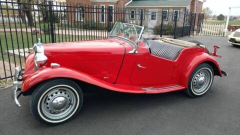 1950 MG TD for sale at Classic Car Deals in Cadillac MI