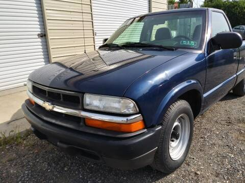 2003 Chevrolet S-10 for sale at Professionals Auto Sales in Philadelphia PA