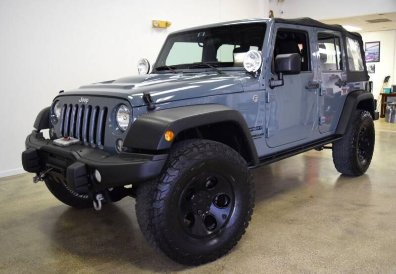2014 Jeep Wrangler Unlimited for sale at Thoroughbred Motors in Wellington FL
