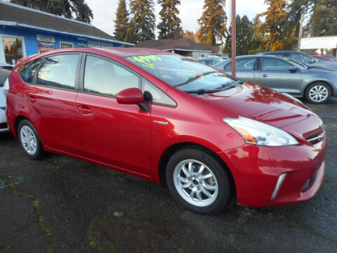 2014 Toyota Prius v for sale at Lino's Autos Inc in Vancouver WA