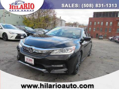 2016 Honda Accord for sale at Hilario's Auto Sales in Worcester MA