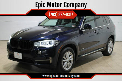 2014 BMW X5 for sale at Epic Motor Company in Chantilly VA