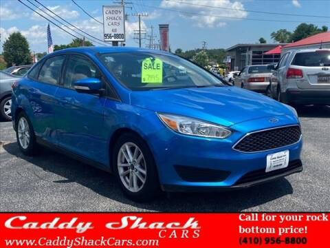 2015 Ford Focus for sale at CADDY SHACK CARS in Edgewater MD