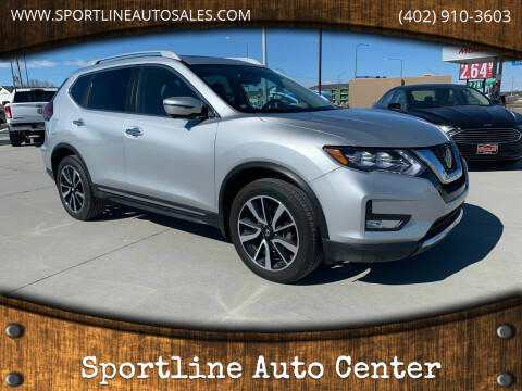 2020 Nissan Rogue for sale at Sportline Auto Center in Columbus NE