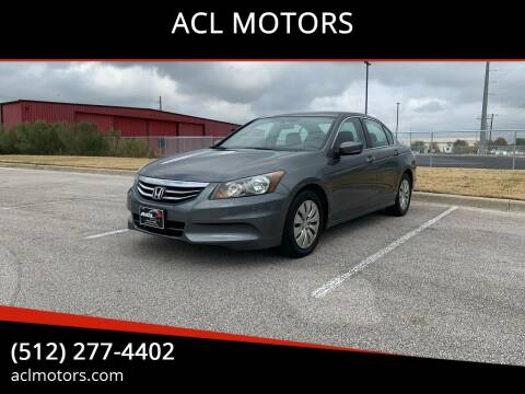2011 Honda Accord for sale at ACL MOTORS in Austin TX