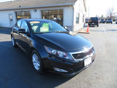 2012 Kia Optima for sale at Tri-County Pre-Owned Superstore in Reynoldsburg OH