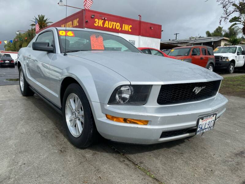 2006 Ford Mustang for sale at 3K Auto in Escondido CA
