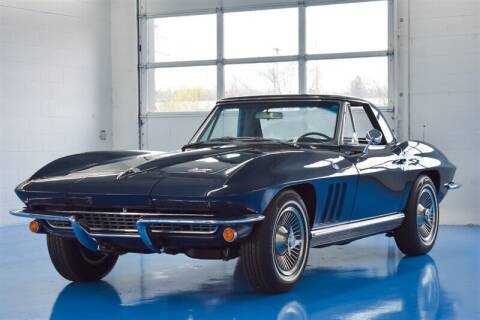 1966 Chevrolet Corvette for sale at Mershon's World Of Cars Inc in Springfield OH