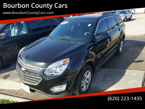 2016 Chevrolet Equinox for sale at Bourbon County Cars in Fort Scott KS