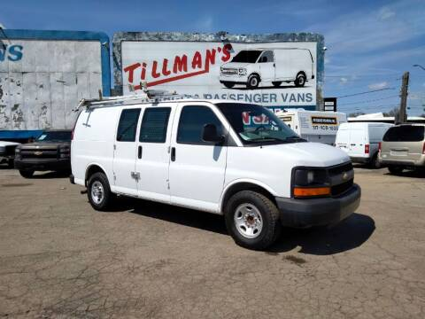 2008 Chevrolet Express Cargo for sale at Connect Truck and Van Center in Indianapolis IN