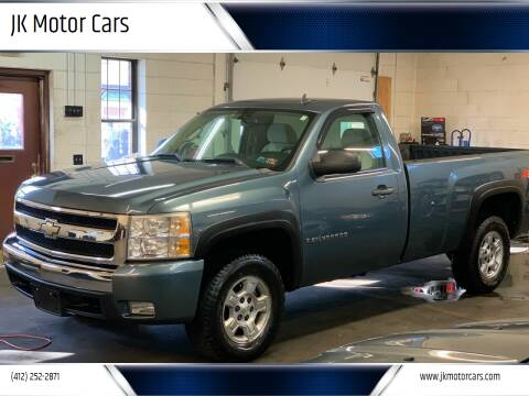 2007 Chevrolet Silverado 1500 for sale at JK Motor Cars in Pittsburgh PA