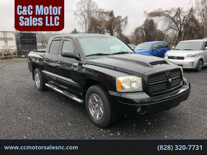 2006 Dodge Dakota for sale at C&C Motor Sales LLC in Hudson NC