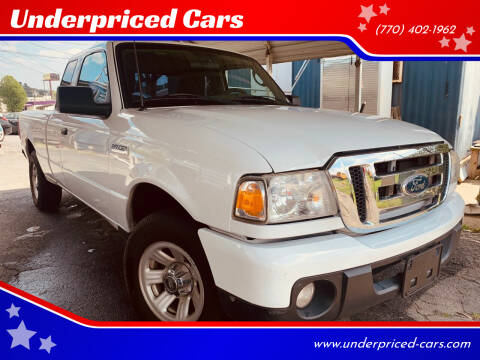 2011 Ford Ranger for sale at Underpriced Cars in Marietta GA
