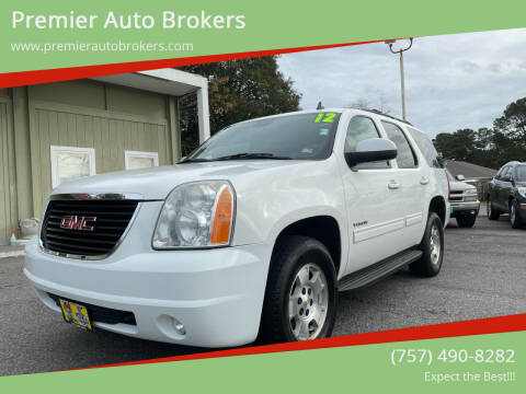 2012 GMC Yukon for sale at Premier Auto Brokers in Virginia Beach VA