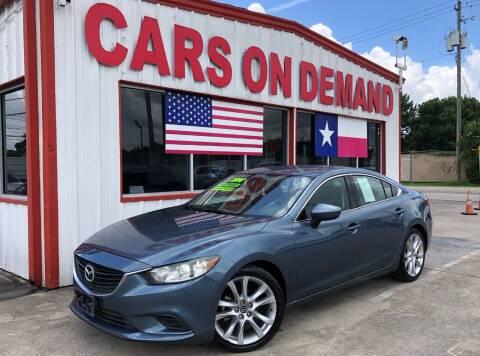 2014 Mazda MAZDA6 for sale at Cars On Demand 3 in Pasadena TX