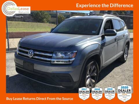 2018 Volkswagen Atlas for sale at Dallas Auto Finance in Dallas TX