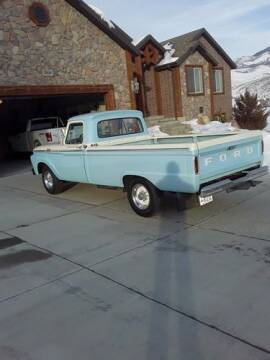 1964 Ford F-250 for sale at Classic Car Deals in Cadillac MI