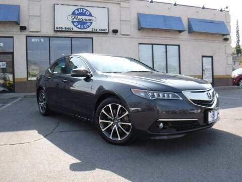 2015 Acura TLX for sale at Platinum Auto Sales in Provo UT