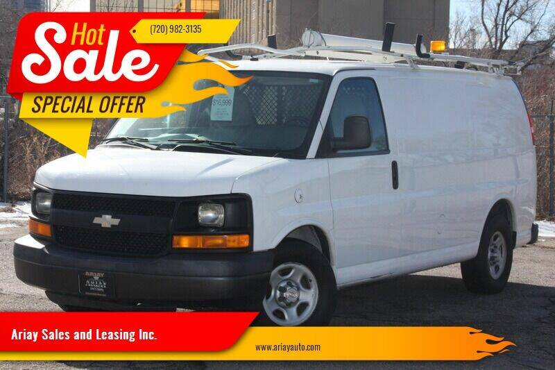 2008 Chevrolet Express Cargo for sale at Ariay Sales and Leasing Inc. in Denver CO