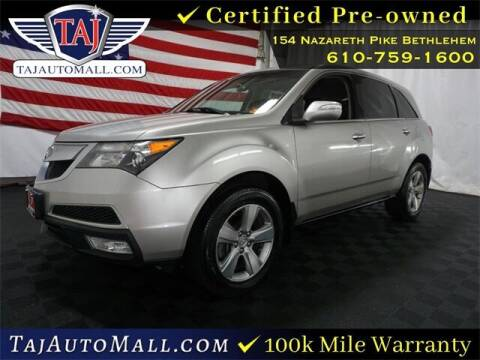 2010 Acura MDX for sale at Taj Auto Mall in Bethlehem PA