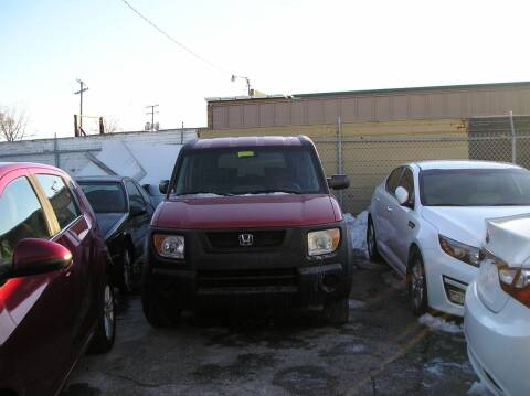 2004 Honda Element for sale at ZJ's Custom Auto Inc. in Roseville MI