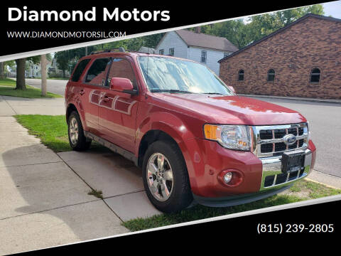 2012 Ford Escape for sale at Diamond Motors in Pecatonica IL