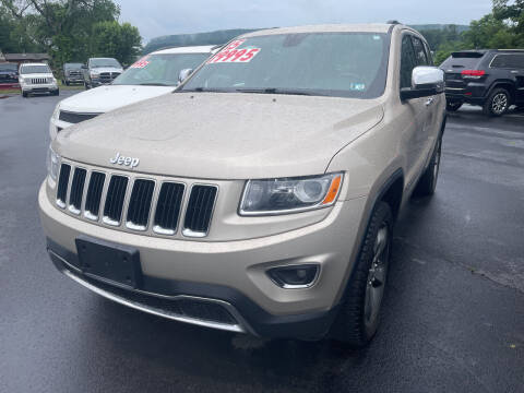 2015 Jeep Grand Cherokee for sale at Chilson-Wilcox Inc Lawrenceville in Lawrenceville PA