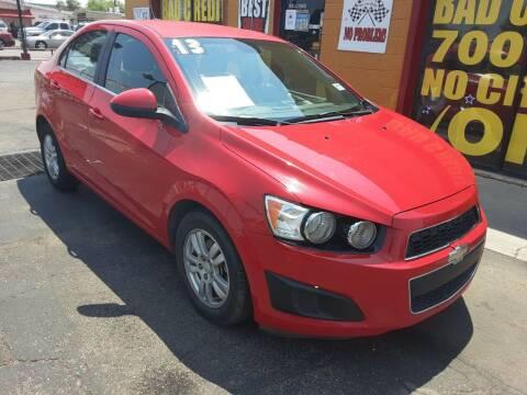 2013 Chevrolet Sonic for sale at Sunday Car Company LLC in Phoenix AZ