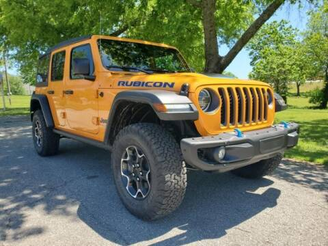 2021 Jeep Wrangler 4xe for sale at Vance Fleet Services in Guthrie OK
