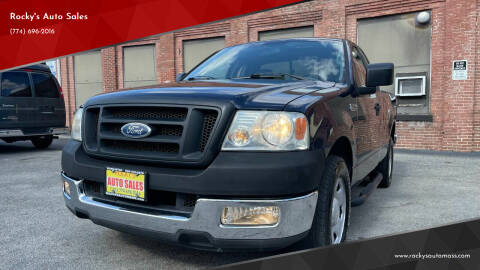 2005 Ford F-150 for sale at Rocky's Auto Sales in Worcester MA