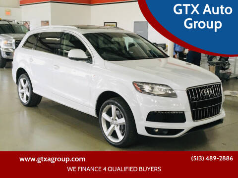 2013 Audi Q7 for sale at GTX Auto Group in West Chester OH