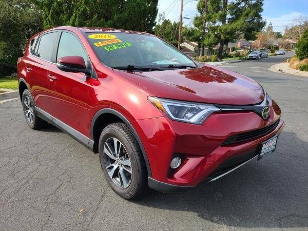 2018 Toyota RAV4 for sale at CAR CITY SALES in La Crescenta CA