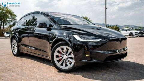 2017 Tesla Model X for sale at MUSCLE MOTORS AUTO SALES INC in Reno NV