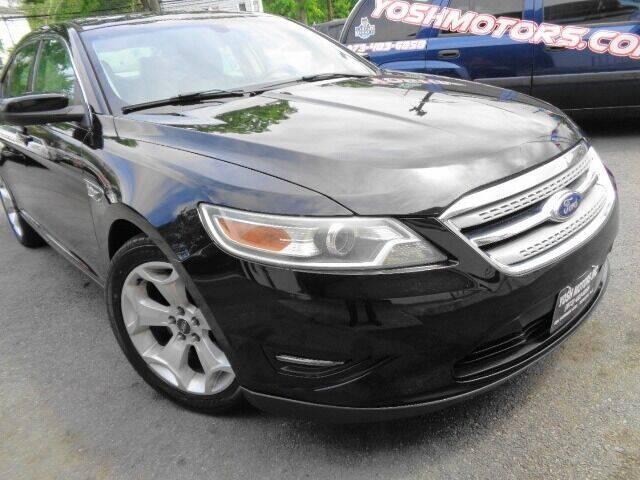 2012 Ford Taurus for sale at Yosh Motors in Newark NJ