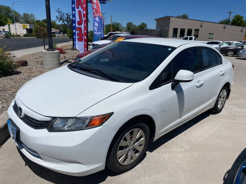 2012 Honda Civic for sale at Allstate Auto Sales in Twin Falls ID