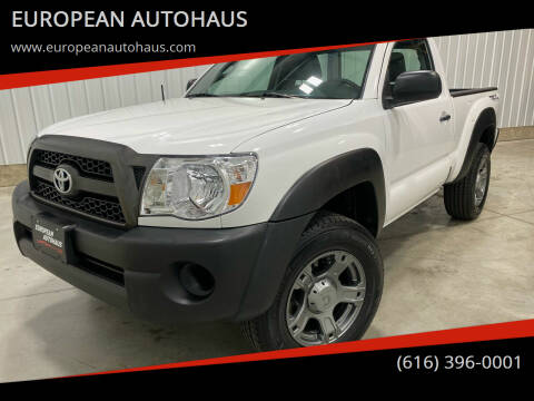2011 Toyota Tacoma for sale at EUROPEAN AUTOHAUS in Holland MI