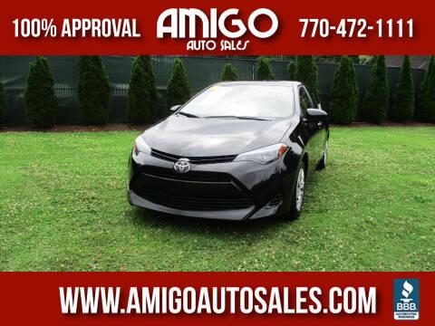 2018 Toyota Corolla for sale at Amigo Auto Sales in Marietta GA