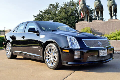2008 Cadillac STS-V for sale at European Motor Cars LTD in Fort Worth TX