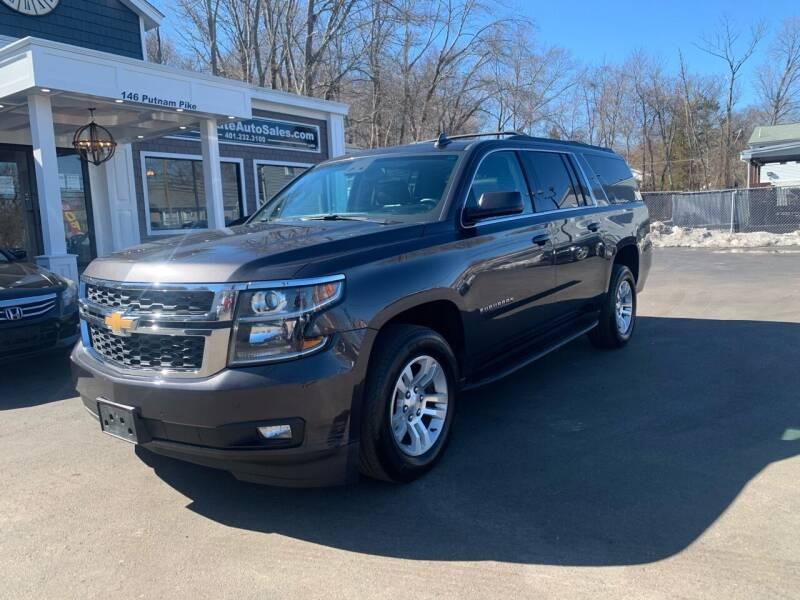 2017 Chevrolet Suburban for sale at Ocean State Auto Sales in Johnston RI