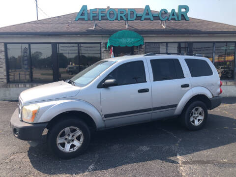 2006 Dodge Durango for sale at Afford-A-Car in Moraine OH