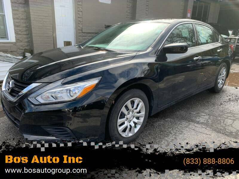 2016 Nissan Altima for sale at Bos Auto Inc in Quincy MA