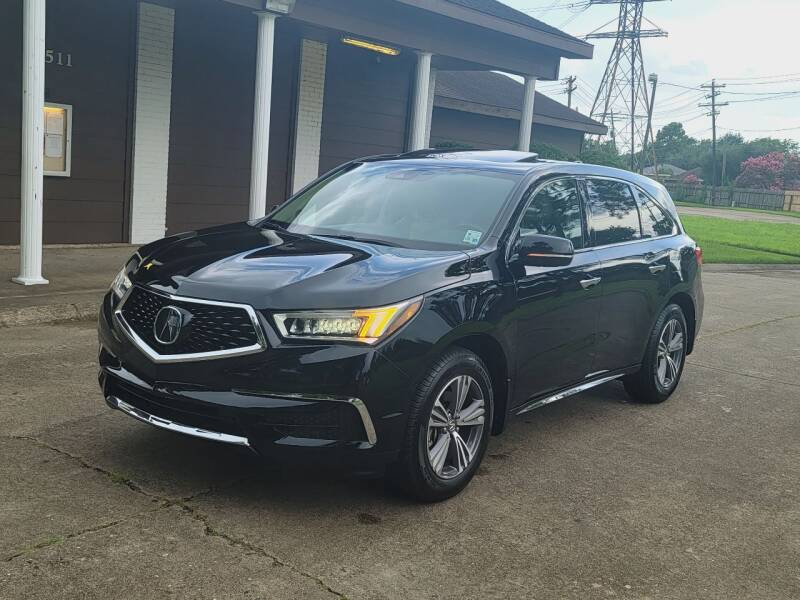 2019 Acura MDX for sale at MOTORSPORTS IMPORTS in Houston TX