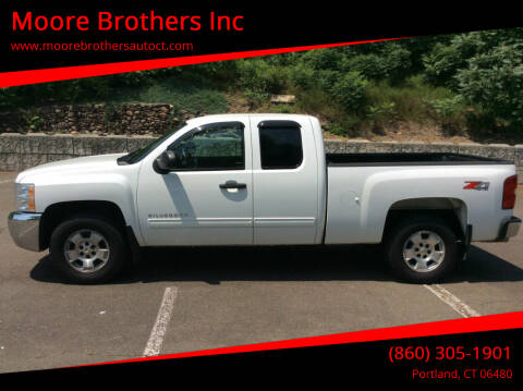 2013 Chevrolet Silverado 1500 for sale at Moore Brothers Inc in Portland CT