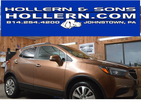 2017 Buick Encore for sale at Hollern & Sons Auto Sales in Johnstown PA