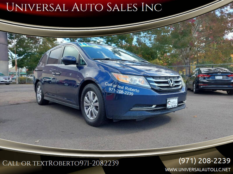2014 Honda Odyssey for sale at Universal Auto Sales Inc in Salem OR