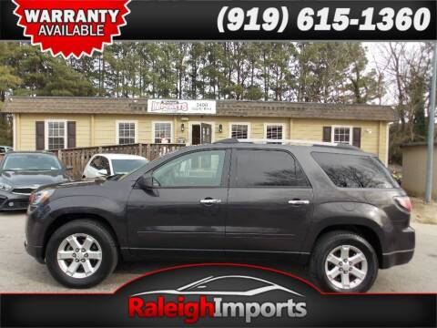 2014 GMC Acadia for sale at Raleigh Imports in Raleigh NC
