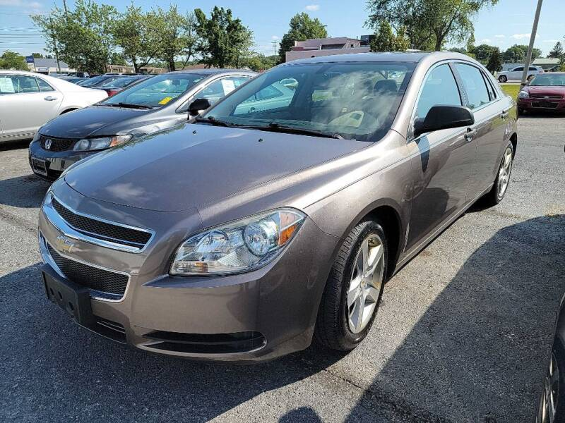 2012 Chevrolet Malibu for sale at Lakeshore Auto Wholesalers in Amherst OH