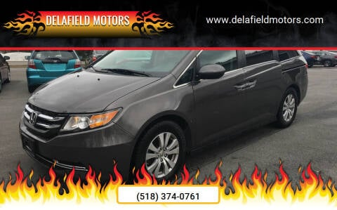 2016 Honda Odyssey for sale at Delafield Motors in Glenville NY