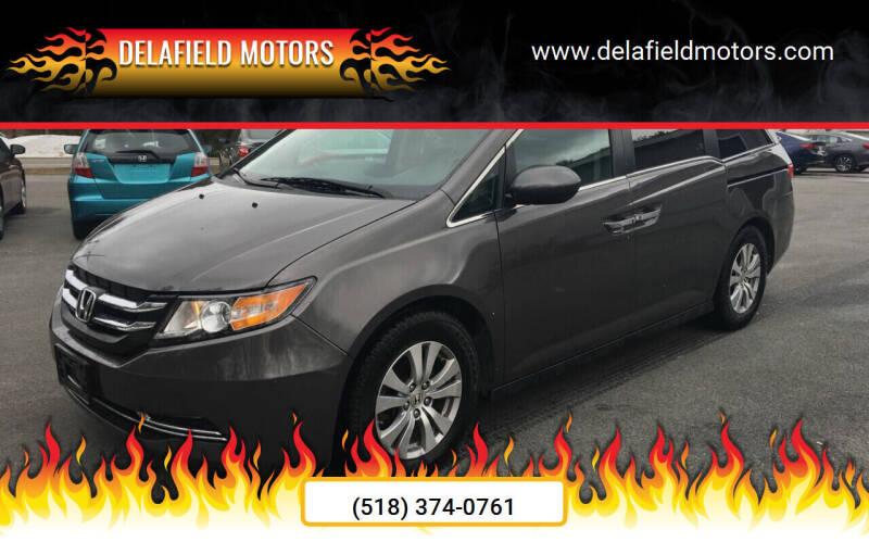 2016 Honda Odyssey for sale at Delafield Motors in Glenville NY