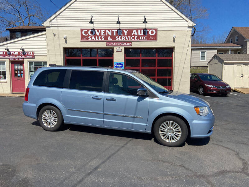2012 Chrysler Town and Country for sale at COVENTRY AUTO SALES in Coventry CT